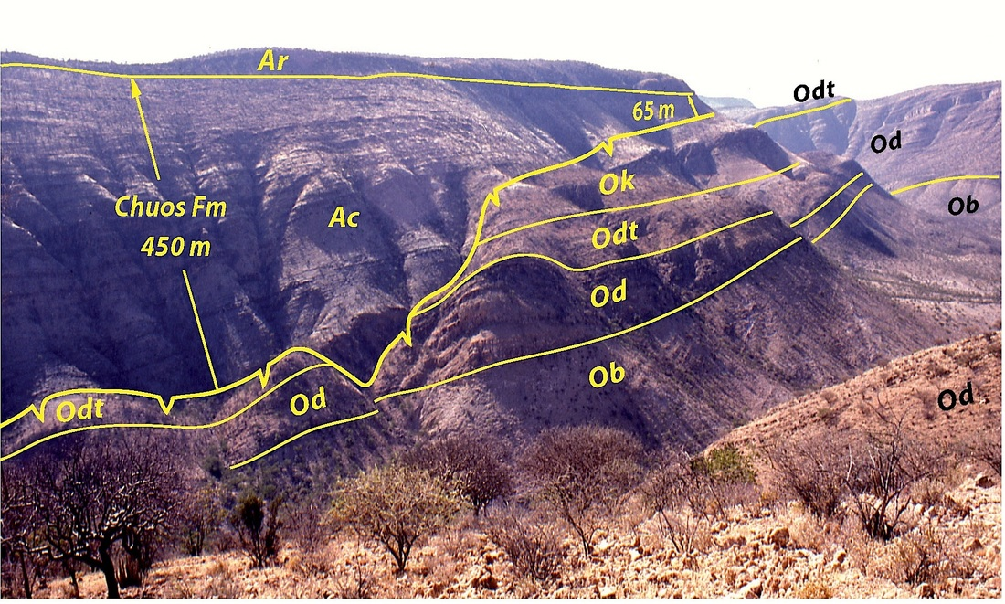 Otavi Namibia  city images : The Geological Record of Neoproterozoic Glaciations